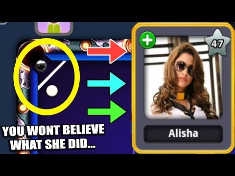 Thumbnail: CHEATER GIRL In 8 Ball Pool CROSSED Her Limits [SHE SURPRISED ME] Moonlight Miniclip