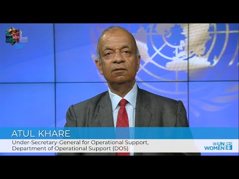 Making Parity a Reality in the UN | USG Atul Khare