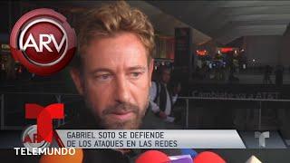 Gabriel Soto en líos por su relación con Irina Baeva | Al Rojo Vivo | Telemundo