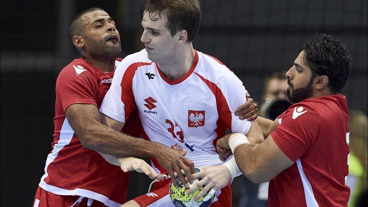 Puchar Czterech Narodów, półfinał: Polska – Bahrajn (skrót)
