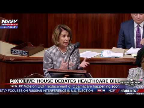 FNN: House Minority Leader Nancy Pelosi Speaks AGAINST GOP Obamacare Replacement Bill Before Vote