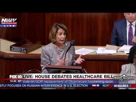 FNN: House Minority Leader Nancy Pelosi Speaks AGAINST GOP Obamacare Replacement Bill Before Vote