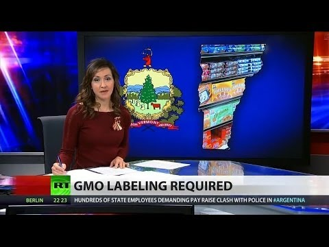 Vermont approves GMO food labeling