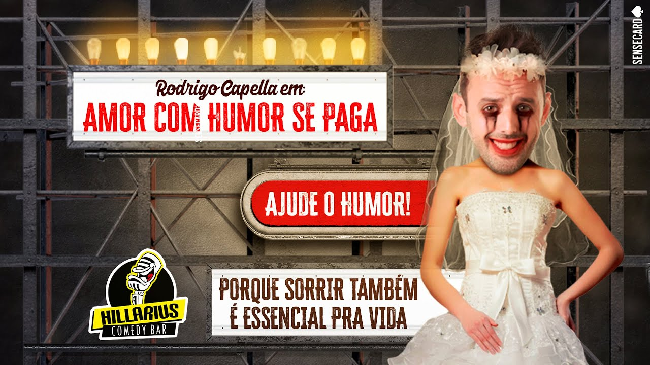"""Especial de Comédia - """"AMOR COM HUMOR SE PAGA""""   Rodrigo Capella"""