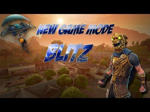 *NEW* Game Mode BLITZ Battle Royal (Fortnite LIVE w/ Dark Void & friends)