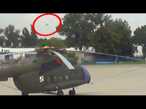 UFO Sighting Grounded Polish Military Helicopters At European Airport!