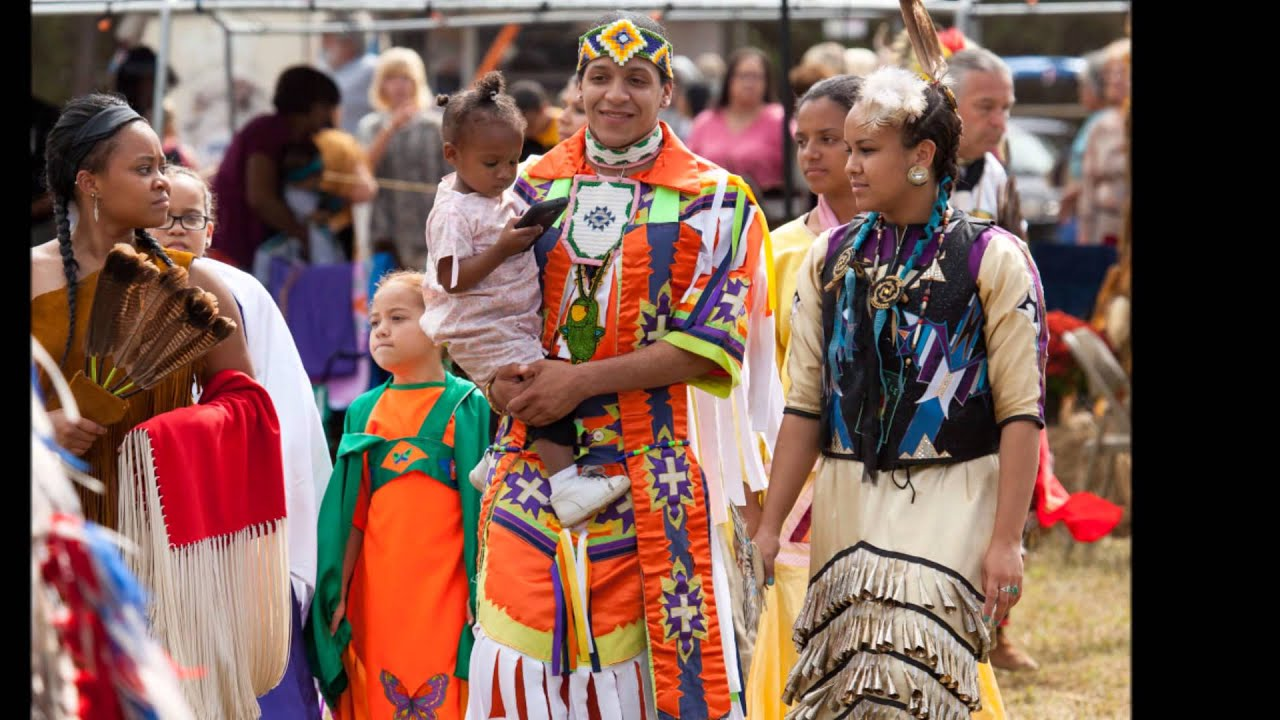 Chickahominy Tribal Pow Wow - Intra Tribal - YouTube