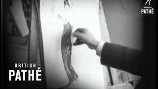 Art Celebrities At Work - M. Jean Gabriel Domergue (1932)