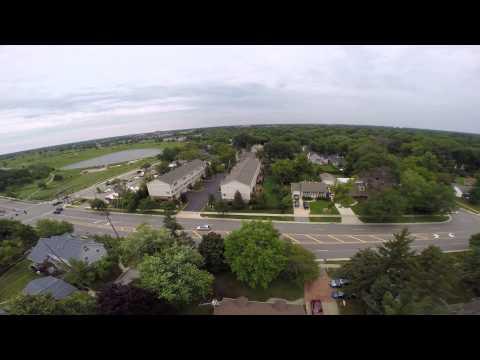 Quadricopter Over Palatine Illinois