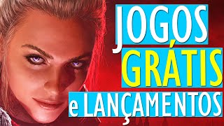 EITA!! 6 NOVOS JOGOS GRÁTIS no PC (Steam) e LANÇAMENTOS da SEMANA