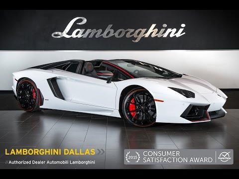 2016 Lamborghini Aventador LP 700-4 Pirelli Edition Roadster Bianco Canopus GLA04675