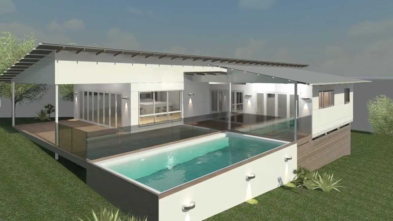 Brookwater Design By Bush and Beach Homes - YouTube