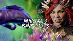 Injustice 2: Poison Ivy Ranked Sets #2