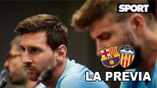 Rueda de prensa de Messi, Piqué y Valverde 🎙️ | Previa FC Barcelona - Valencia - Final de la Copa