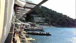 Croatia Dubrovnik, Lapad Beach - Хорватия Дубровник, пляж Лапад(Один из двух посещенных нами пляжей Дубровника. Снято с террасы ресторана, оформленного в стиле ретро. Рест..., 2012-08-30T18:19:45.000Z)
