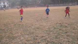 KIDS TRAINING FOOTBALL GUWAHATI RAINBOW EFC