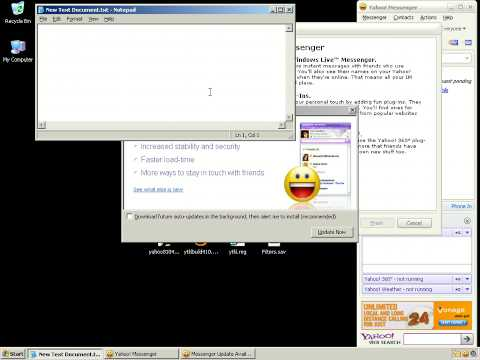 Free YTK Lite and Yahoo Messenger 8 with settings and bot filters