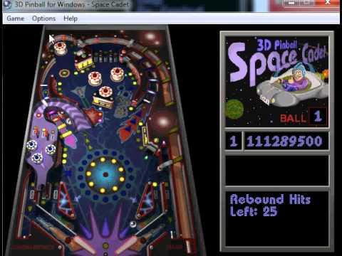 flipper pinball space cadet gratuit