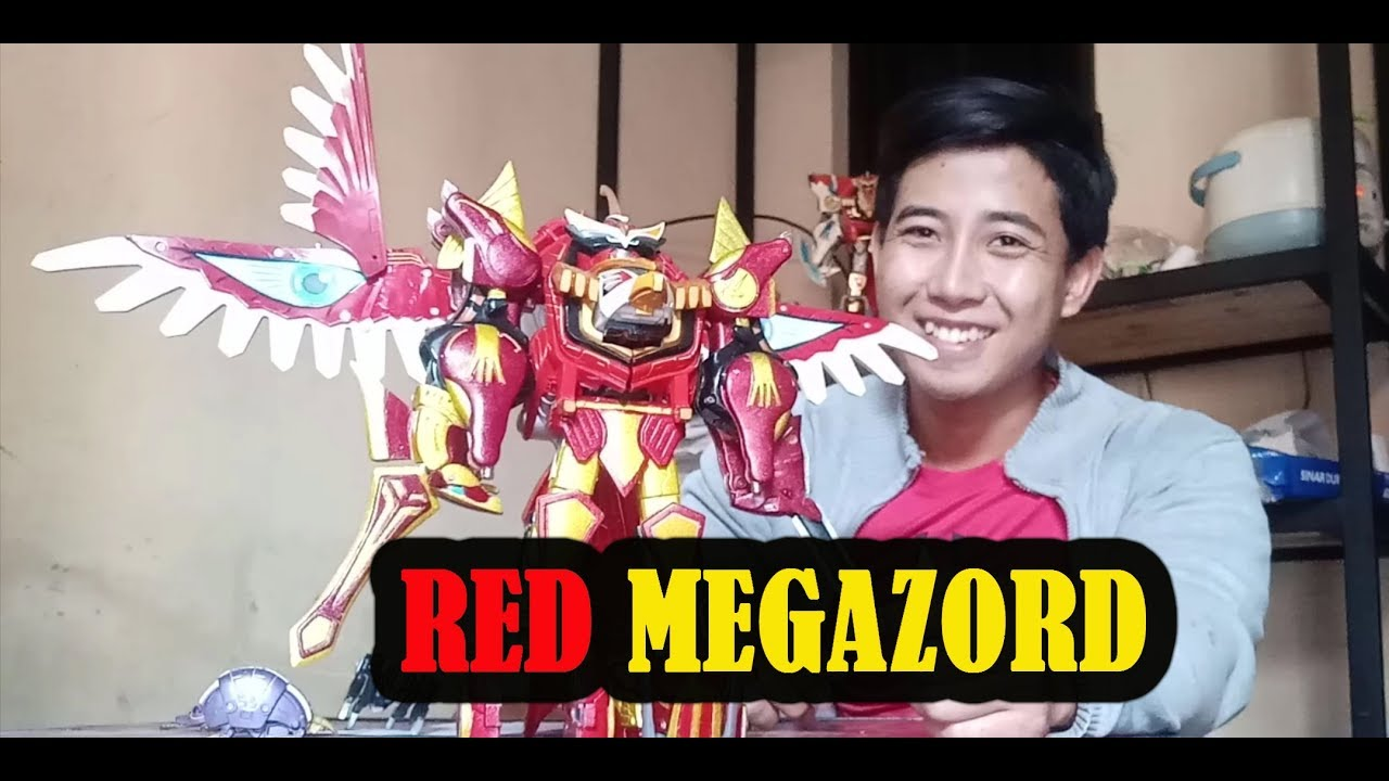 gao justice / gaoking dari gaoranger atau power rangers wild force
