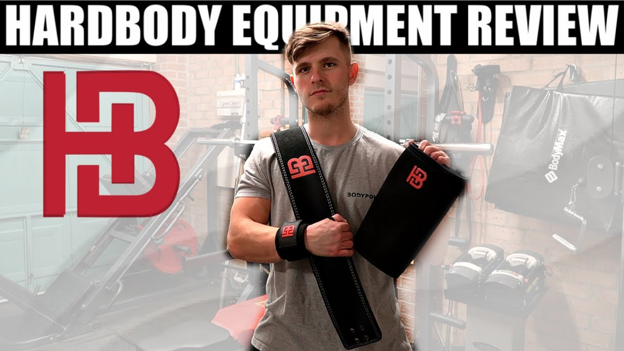 Download HARDBODY EQUIPMENT REVIEW - Lifting Belt, Wrist Wraps and Knee Sleeves
