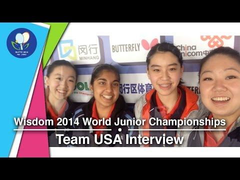#TeamUSA's Junior World Championships Interview