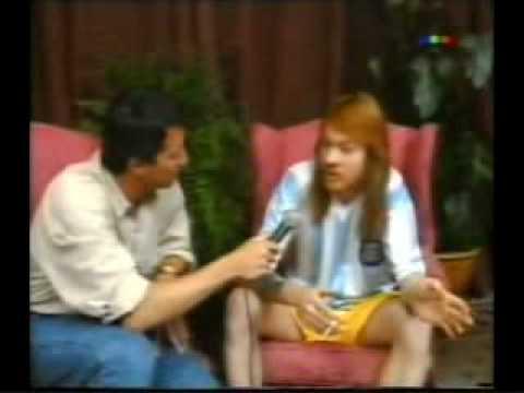 Axl Rose Entrevista Argentina 92′
