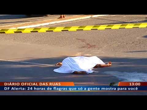 DFA - Rival executado e atropelado depois de morto por inimigos