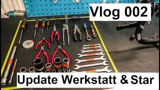 Vlog 002 - Update Werkstatt & Star (Werkbänke, Werkzeuge usw.) - Vespa & Simson / motoerevo