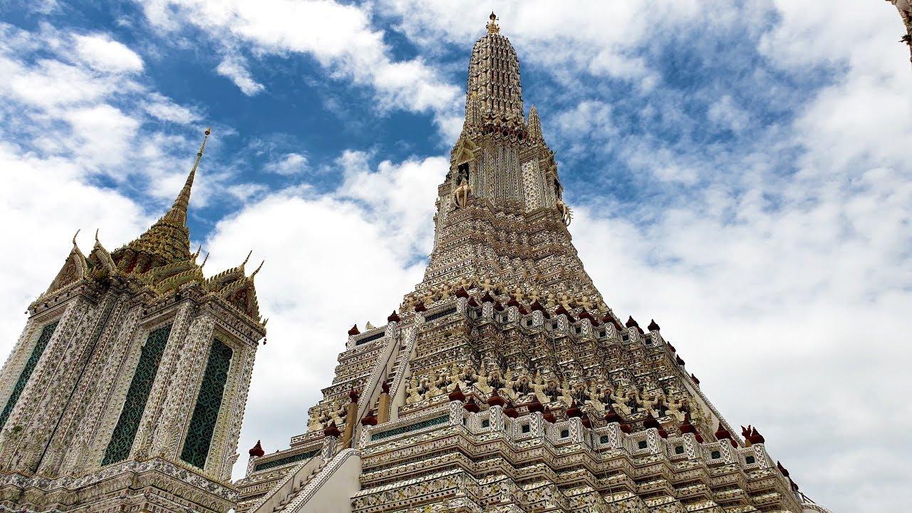 Wat Arun, Bangkok (Temple of Dawn), Thailand [4K] [2021]