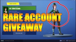 *CLOSED* RARE FORTNITE ACCOUNT GIVEAWAY!