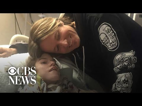 Paul Schadt and Meg - Keith Urban serenades fan in hospice care