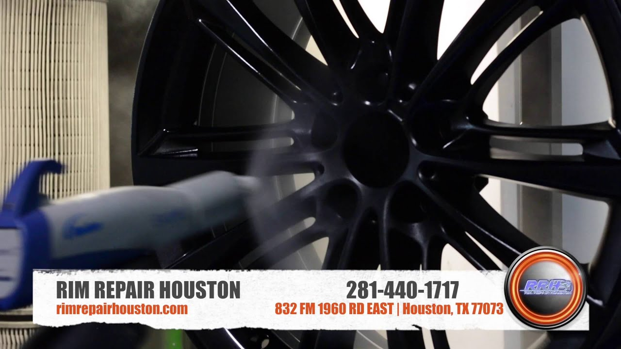 Powder Coating Rim Repair Houston Youtube