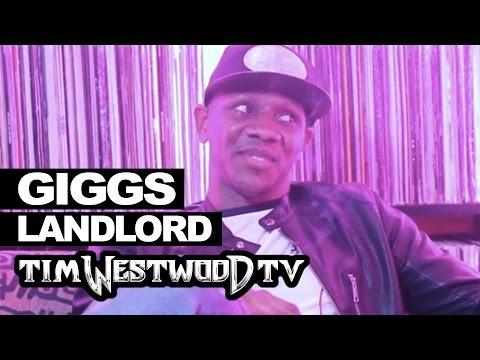 Giggs on Landlord, UK scene, Peckham, success - Westwood