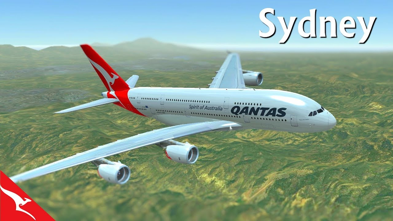 hd flight simulator 2017 australia sydney takeoff. Black Bedroom Furniture Sets. Home Design Ideas