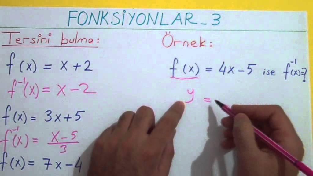 FONKSİYONLAR 3 - Şenol Hoca