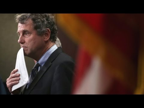 Sherrod Brown slams Trump