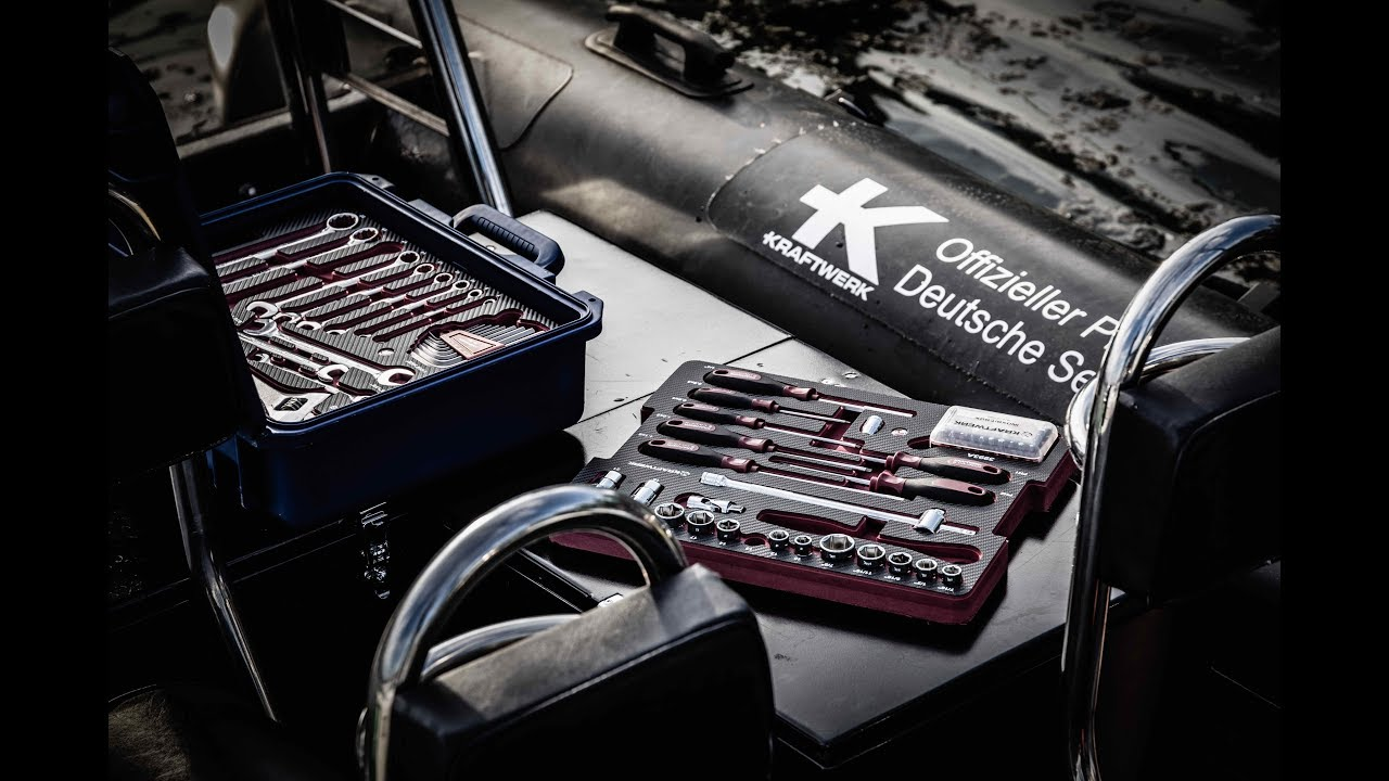 KRAFTWERK tools at German Sailing League - YouTubeKraftwerk Tools