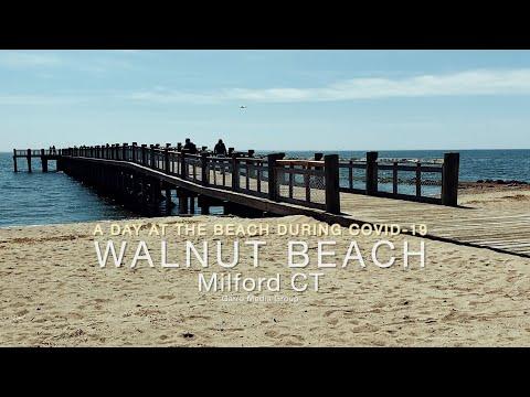 CT Beaches | Best Beaches In CT Near Silver Sands Beach Milford Connecticut  (2020)
