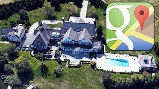 La lujosa mansión de Thalía en Google maps