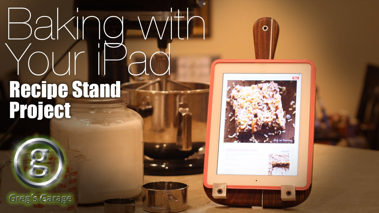 Kitchen Ipad Stand | Diy Ipad Stand For The Kitchen Youtube