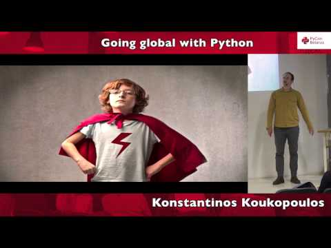 Image from Going global with Python
