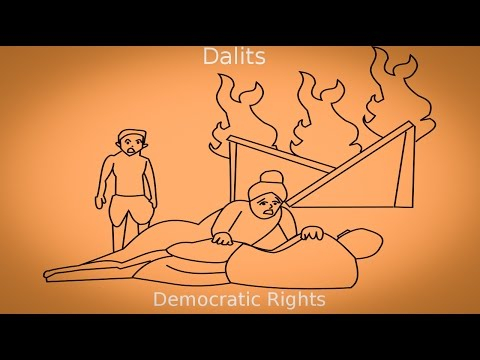 Dalits : Democratic Rights