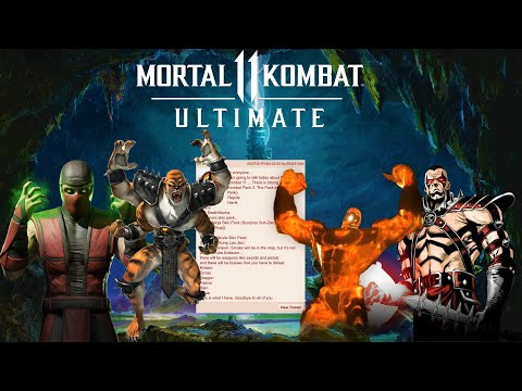 Mortal Kombat 11 - Newest Kombat Pack 3 LEAK!  