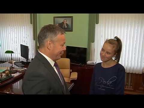 Виктор Карамышев исполнил желание девочки из Рыльска