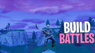 Build Battles + Best Fortnite Settings lol... (Console/Fortnite BR)