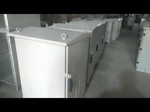 Rackom IP55 Outdoor Cabinets for Telecom-Surveillance-IT-BTS equipment