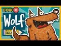 How to Draw a Cartoon Wolf Step by Step for Beginners! (2019)