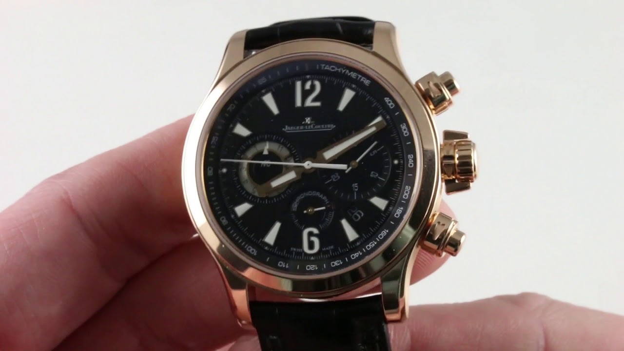 Jaeger-LeCoultre Master Compressor Chronograph Q1752421 Luxury Watch Review