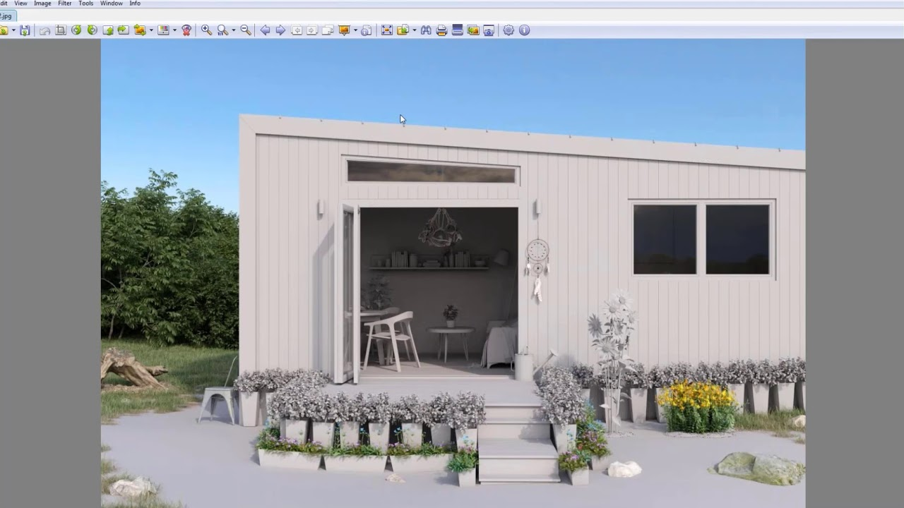 Kaip sukurti architektūrinę 3D vizualizaciją?