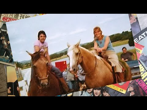 ♫ Paul McCartney and Linda with kids on the farm in Lebanon TN summer of 1974